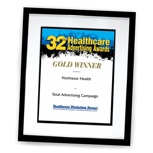 Award Certificate Reprints Now Available (32nd Healthcare Ad Awards)
